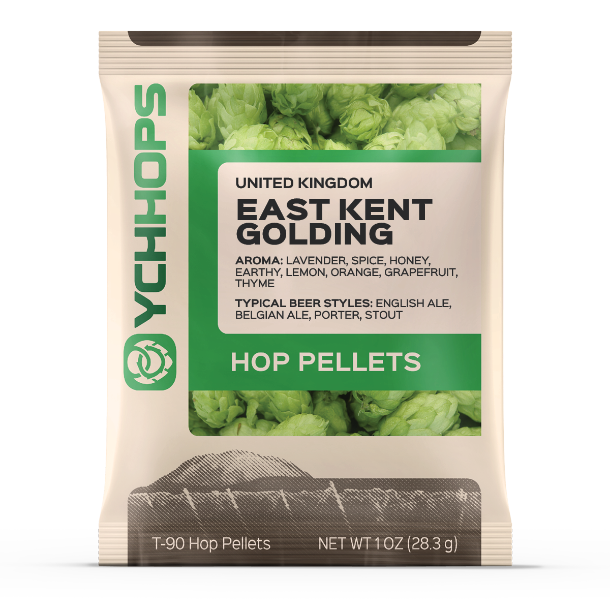 UK Kent Goldings:1oz Pellets (1)