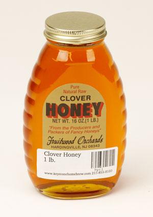 Clover Honey: 1 lb. (1)