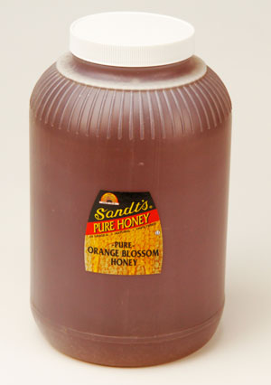 Orange Blossom Honey: 1 Gal. (1)