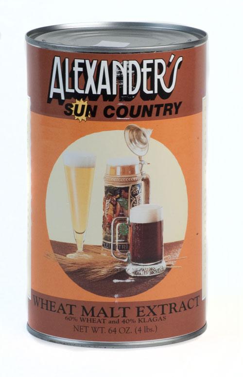 Alexanders Wheat 4#: Malt Extract (1)