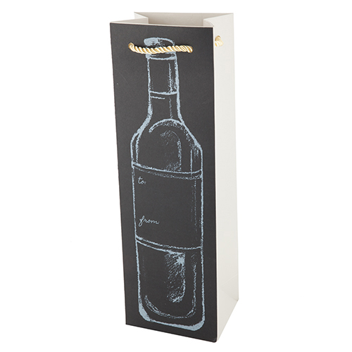 Chalkboard:Bottle Gift Bag (1)