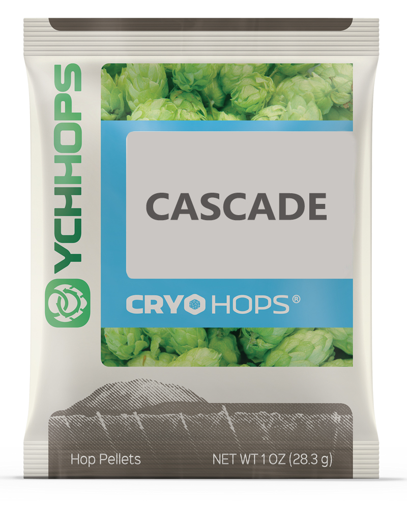 CRYO HOPS, LupuLN2 Cascade, 1oz Pellets, 9-13%AA-0