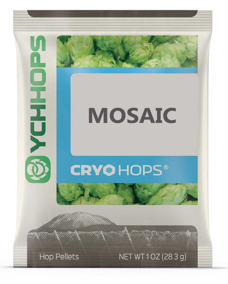 CRYO HOPS, LupuLN2 Mosaic, 1oz Pellets, 20-24%AA-0