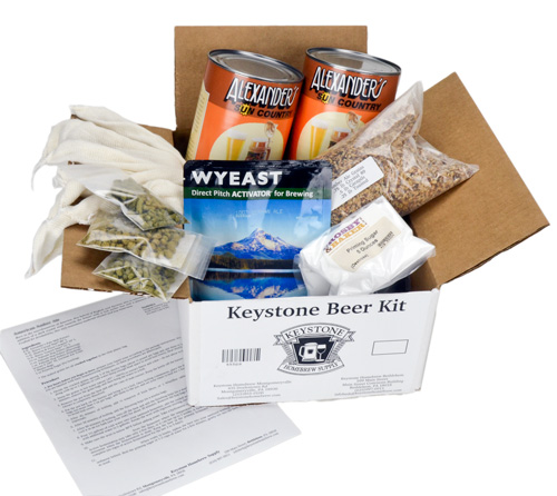 Backyard Beans Stout: All Grain Box Kit (1)
