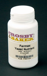 Fermax Yeast :Nutrient 4oz. (1)