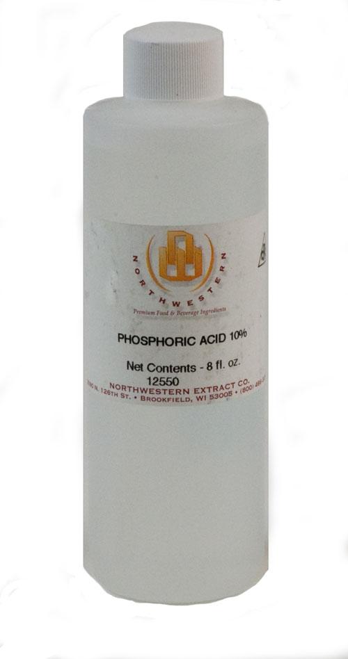 Phosphoric Acid: 8oz 10% (1)