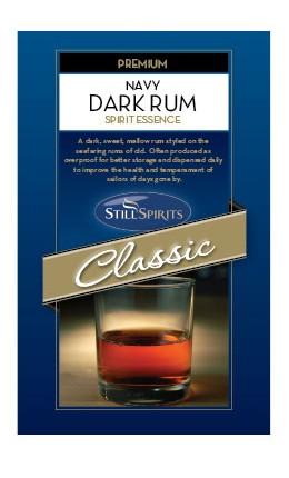 Still Spirits:Classic Navy Dk. Rum (1)