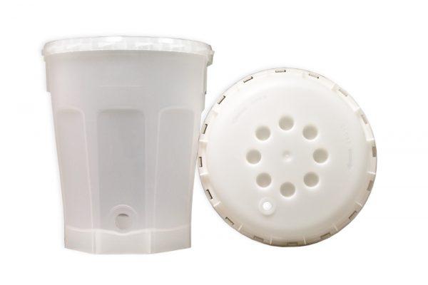 2.5 Gal Fermenter:Bucket w/ Lid (1)