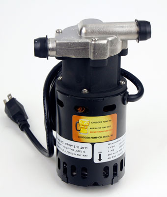 Brewers Wort Pump:Chugger S.S. (1)