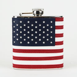 American Flag:6oz Flask (1)