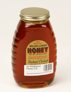 NJ Wildflower: Honey 2 lb. (1)