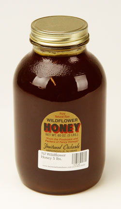 NJ Wildflower: Honey 5 lbs. (1)