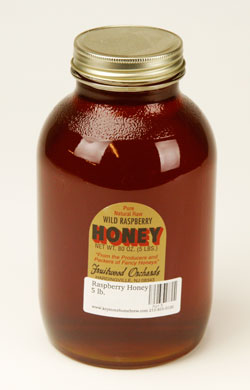 Raspberry Honey: 5 lb. (1)