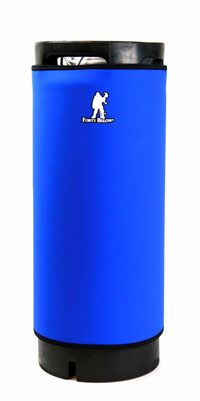 Forty Below Keg: Parka Blue 5gal (1)