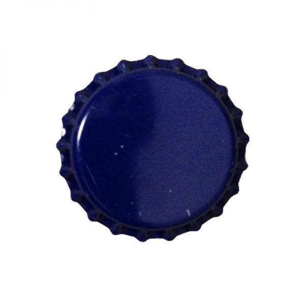 Bottlecaps, Plain, 144 Caps, ROYAL BLUE-0