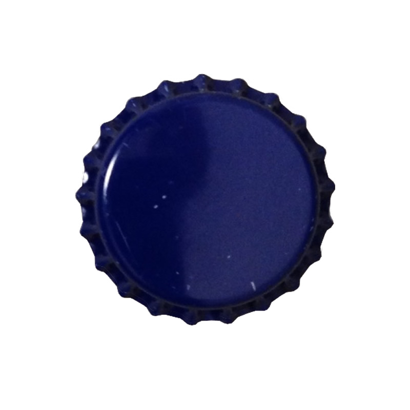 Bottlecaps, Plain, 144 Caps, ROYAL BLUE-0