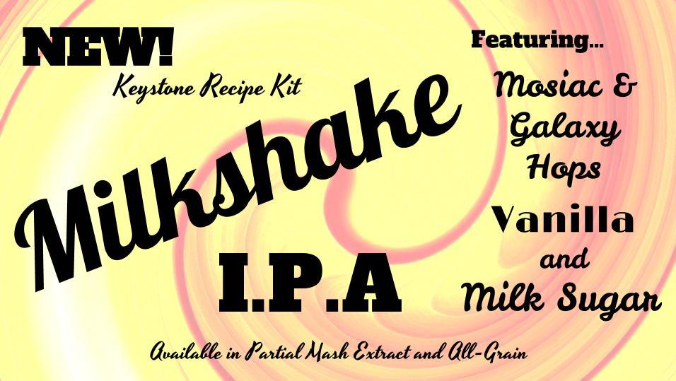 Milkshake IPA Ingredient Kit, ALL GRAIN, Fruit Optional-0