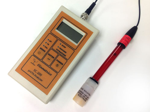 Vinmetrica SC-200 pH and TA Analyzer Kit-0
