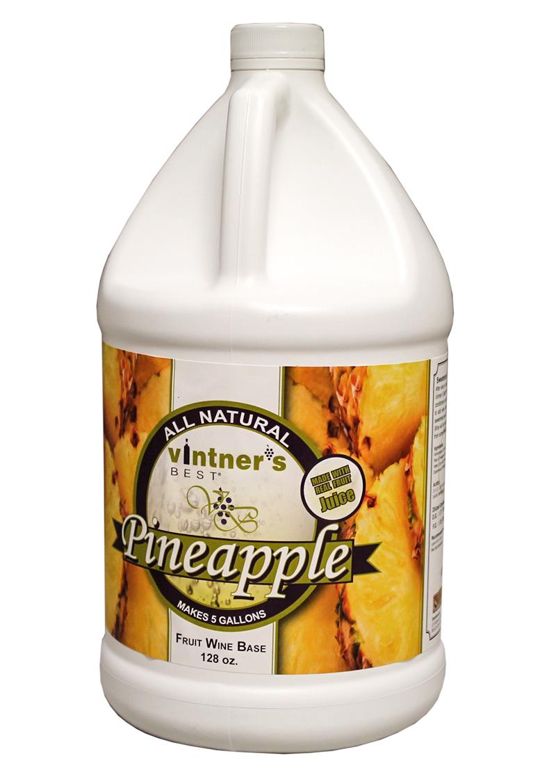 Vintner's Best Pineapple Fruit Wine Base, 128 oz.-0