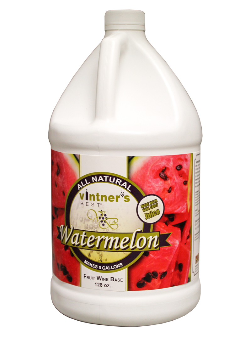 Vintner's Best Watermelon Fruit Wine Base, 128 oz.-0