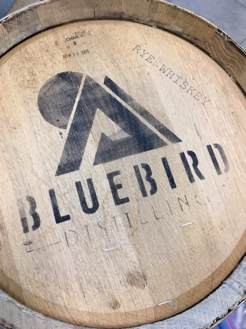5 Gal Rye Whiskey:Barrel Bluebird (1)