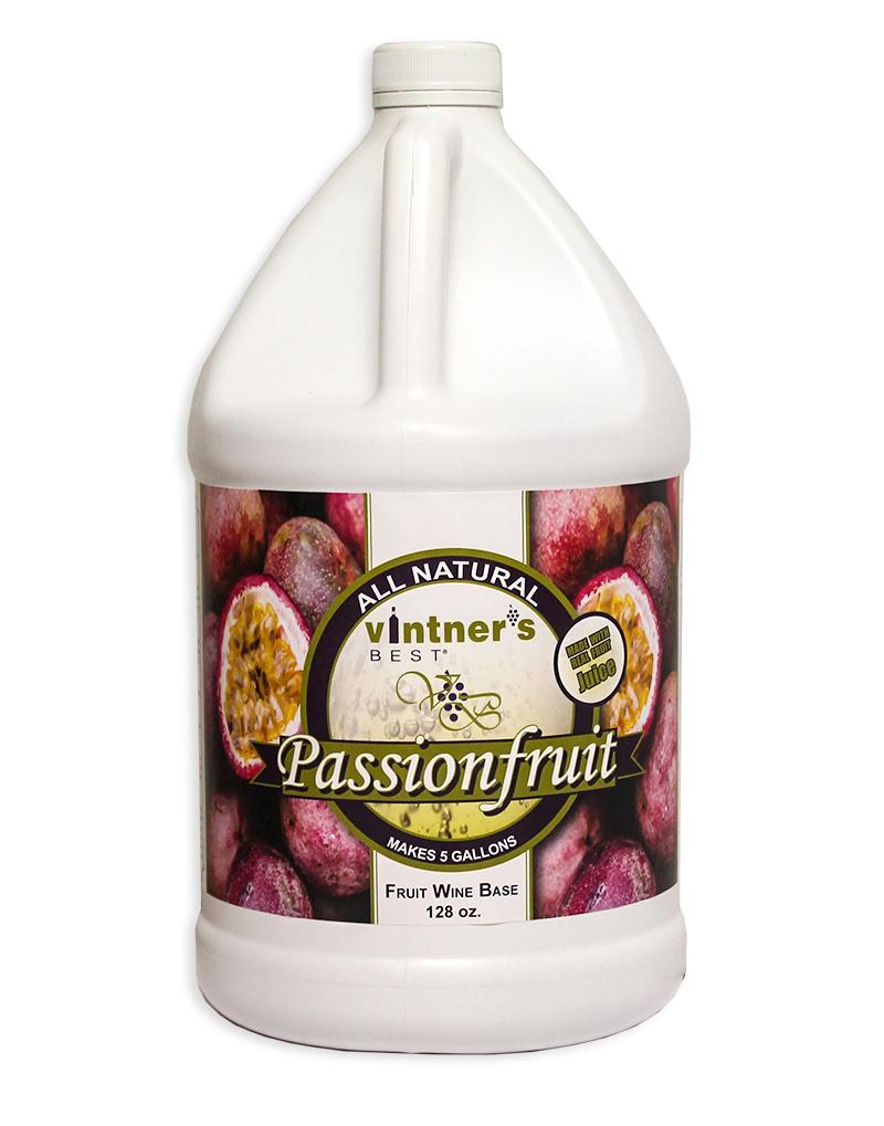 Vintner's Best Passionfruit Fruit Wine Base, 128 oz.-0