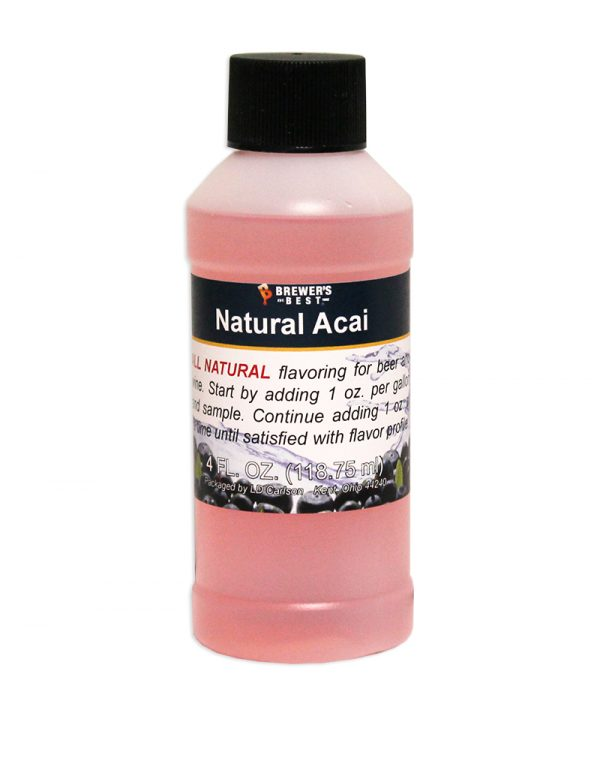 Acai Natural Flavoring, 4 oz-0