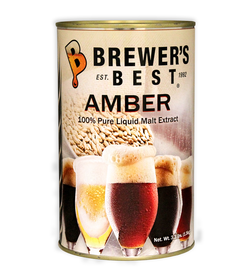 Brewer's Best Amber Liquid Malt Extract, 3.3 lb-0