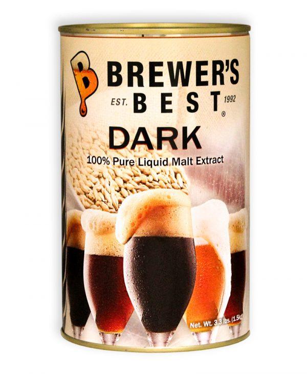 Brewer's Best Dark Liquid Malt Extract, 3.3 lb-0