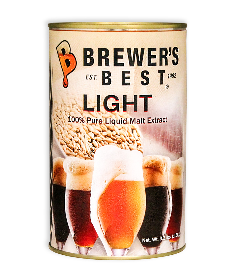 Brewer's Best Light Liquid Malt Extract, 3.3 lb-0
