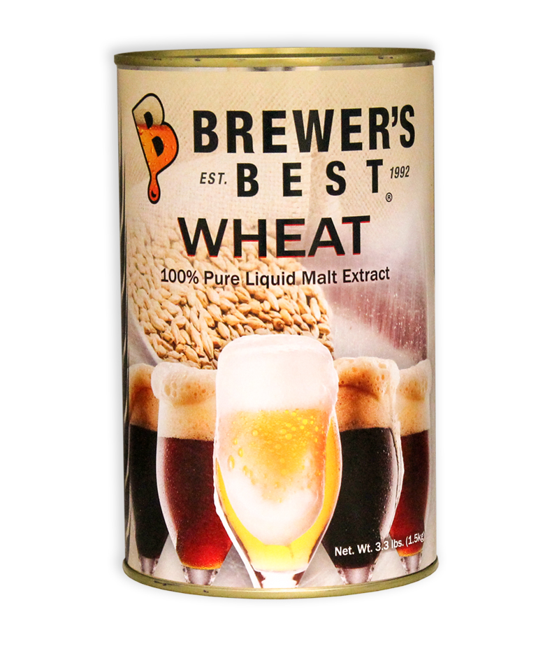 Brewer's Best Wheat Liquid Malt Extract, 3.3 lb-0