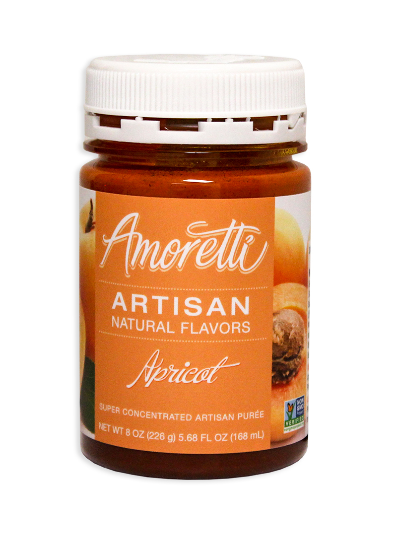 Amoretti Apricot Fruit Puree, 8oz.-0