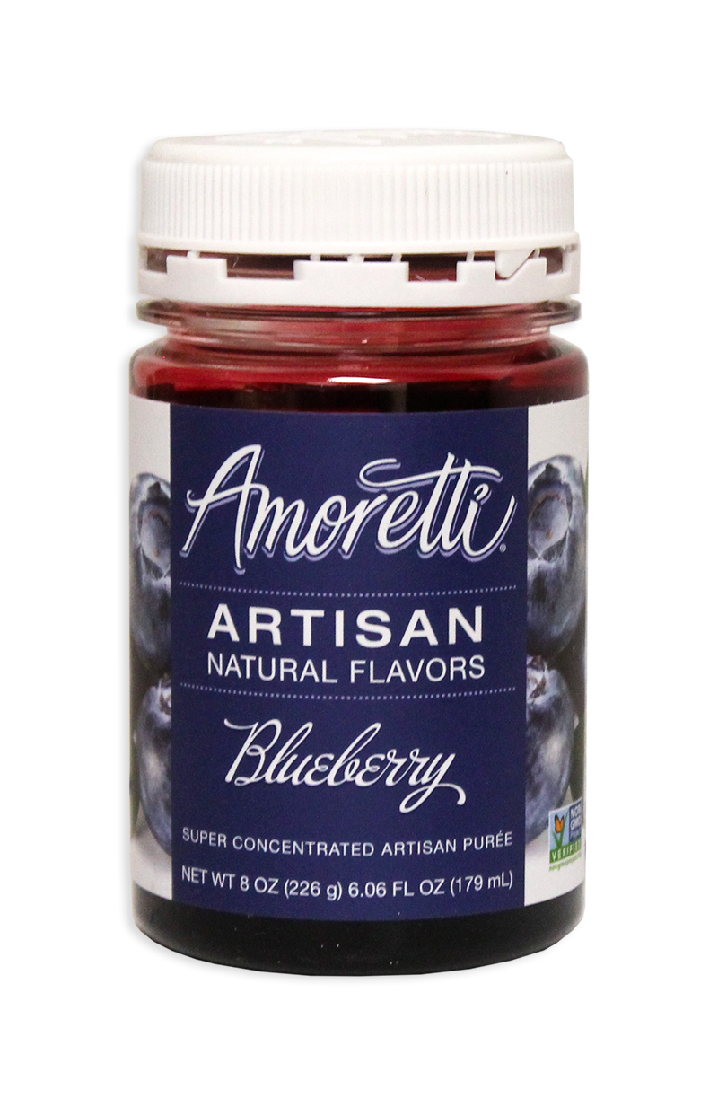 Amoretti Blueberry Fruit Puree, 8oz.-0