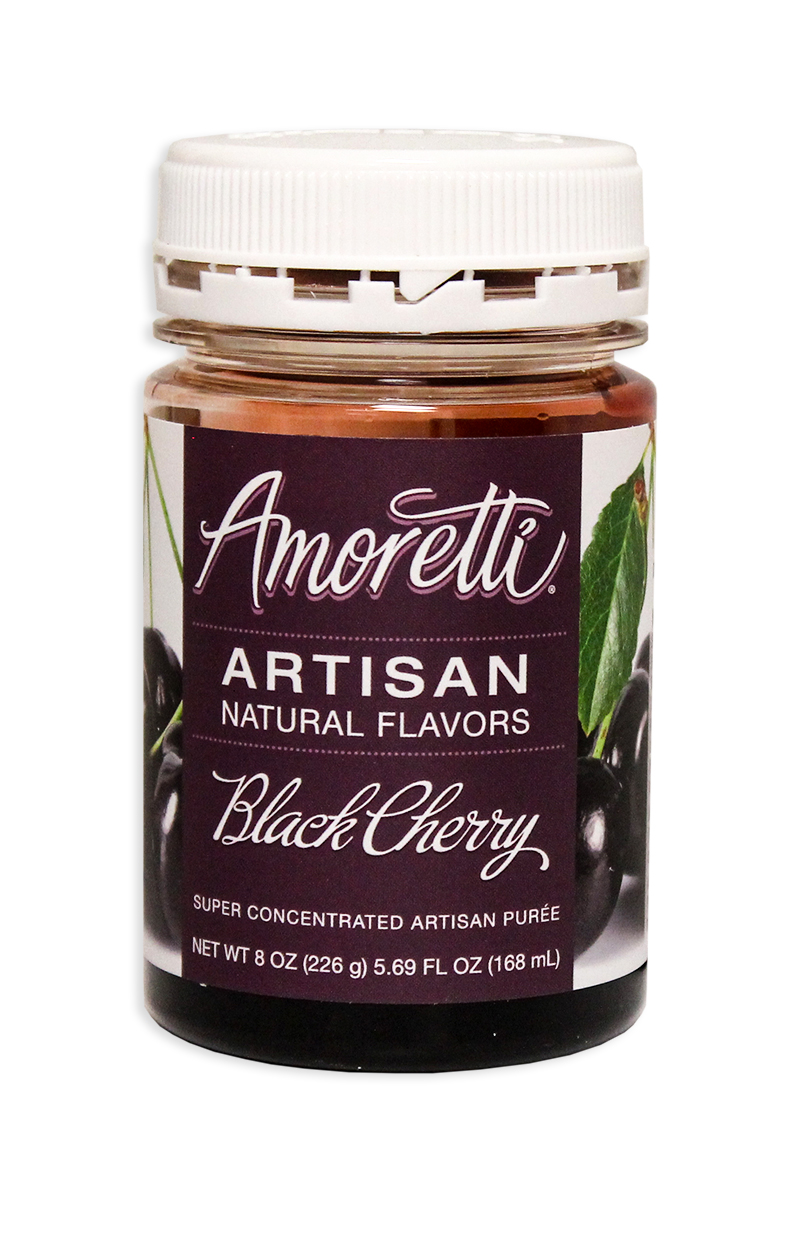 Amoretti Black Cherry Fruit Puree, 8oz.-0