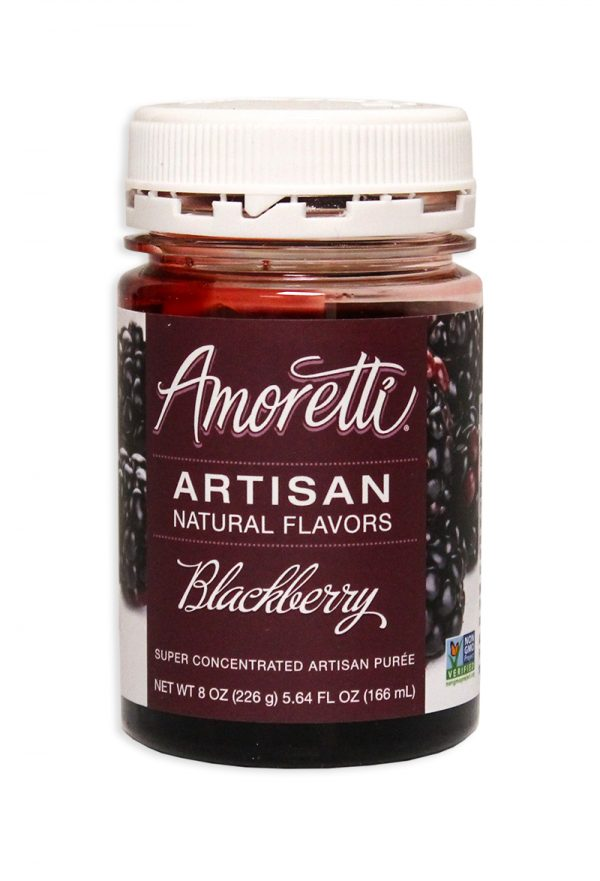 Amoretti Blackberry Fruit Puree, 8oz.-0