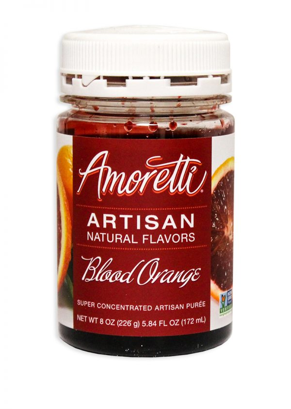 Amoretti Blood Orange Fruit Puree, 8oz.-0