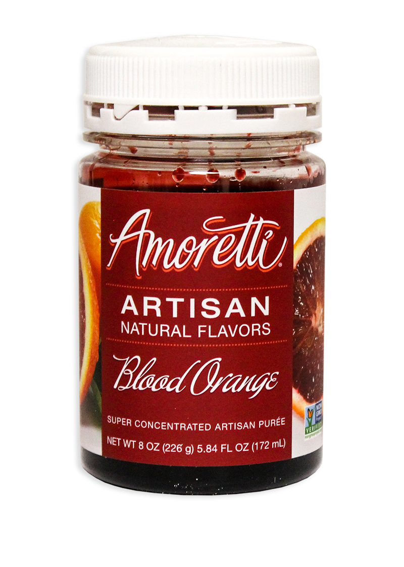 Amoretti Blood Orange Fruit Puree, 8oz.-0