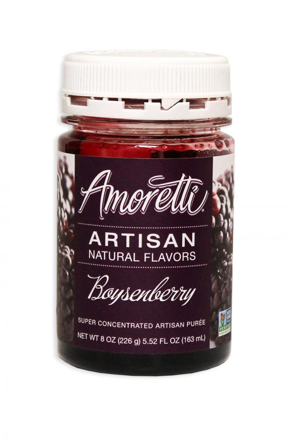 Amoretti Boysenberry Fruit Puree, 8oz.-0