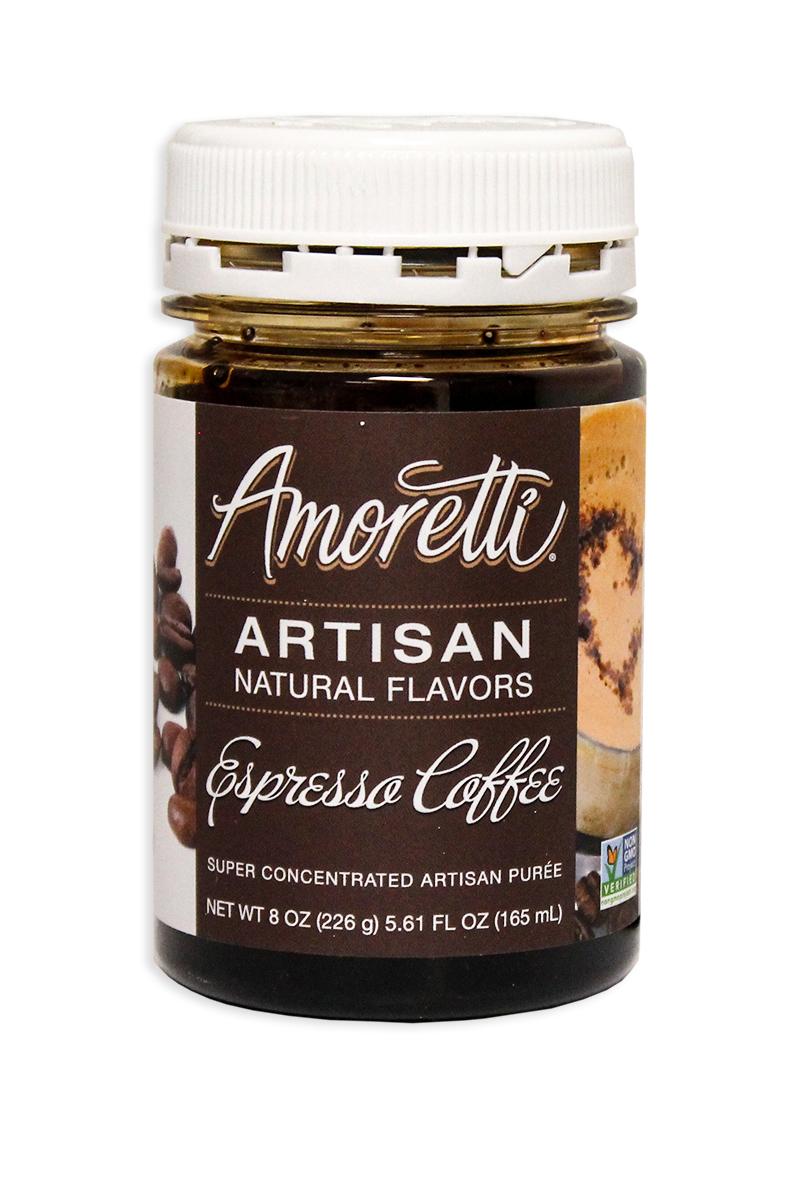 Amoretti Espresso Artisan Puree, 8oz.-0