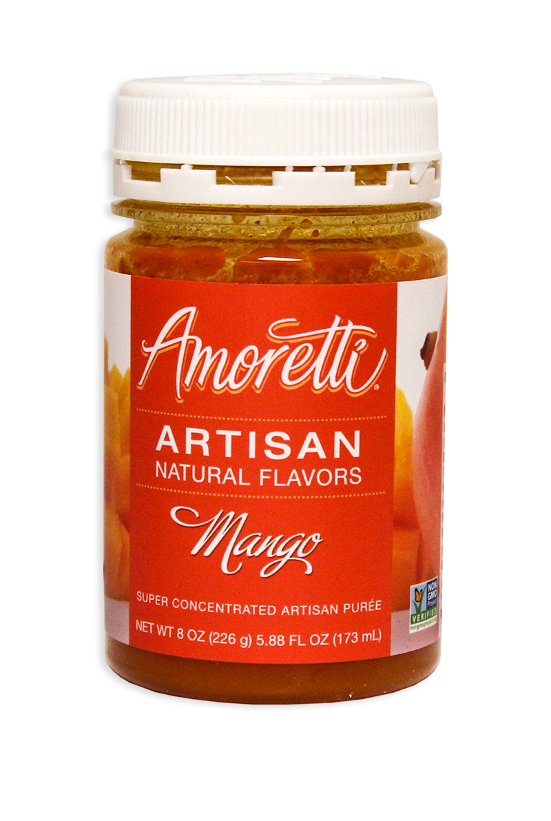 Amoretti Mango Fruit Puree, 8oz.-0
