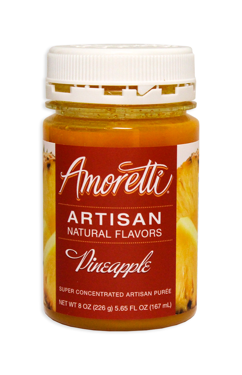 Amoretti Pineapple Fruit Puree, 8oz.-0
