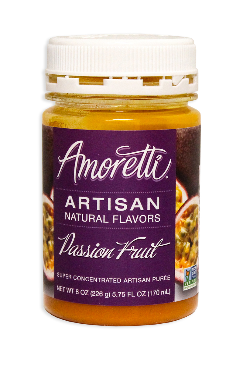 Amoretti Passionfruit Fruit Puree, 8oz.-0