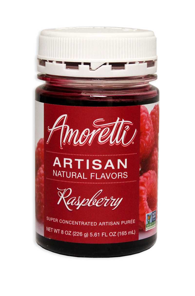 Amoretti Raspberry Fruit Puree, 8oz.-0