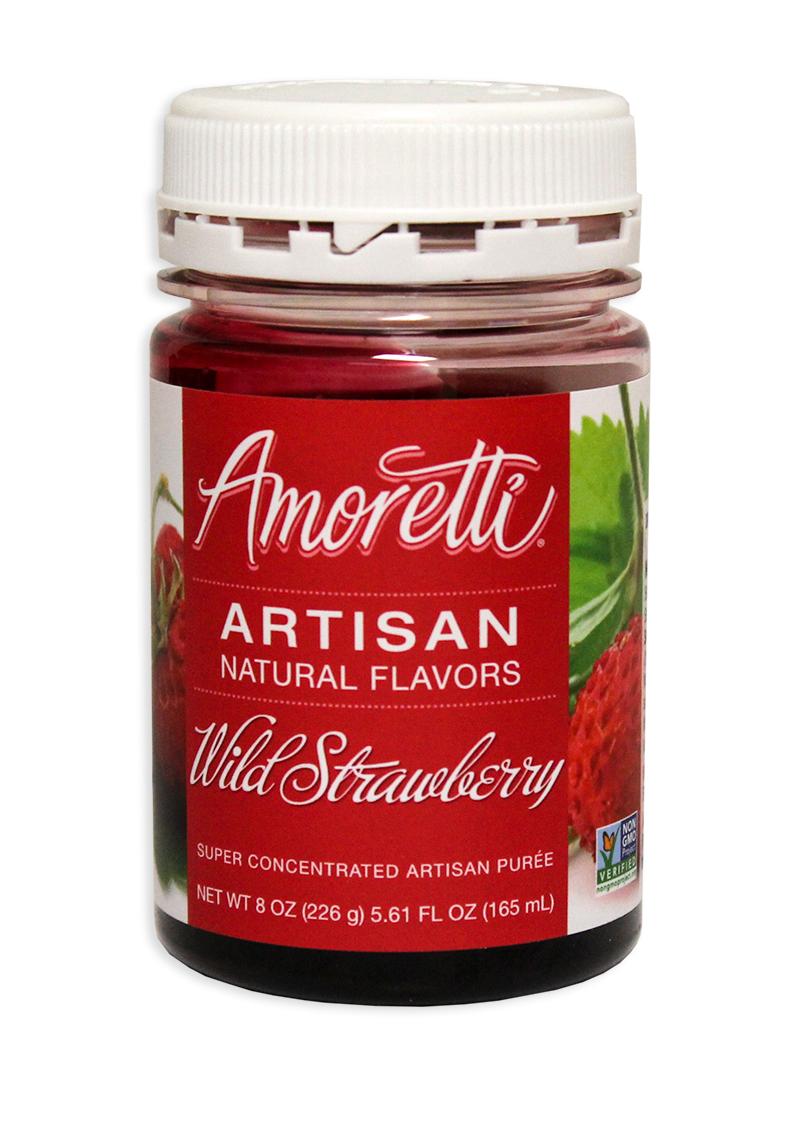 Amoretti Strawberry Fruit Puree, 8oz.-0