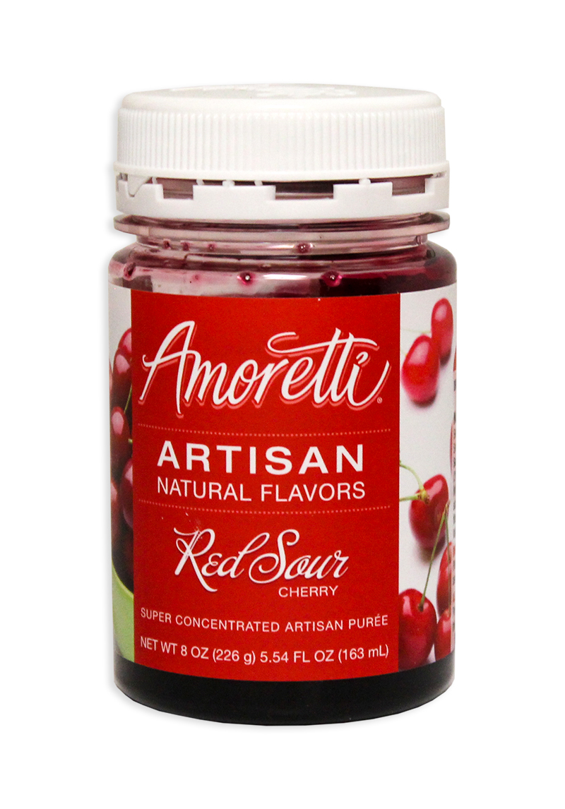Amoretti Sour Cherry Fruit Puree, 8oz.-0