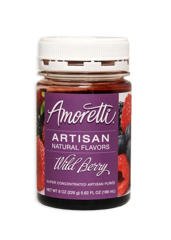 Amoretti Wild Berry Fruit Puree, 8oz.-0