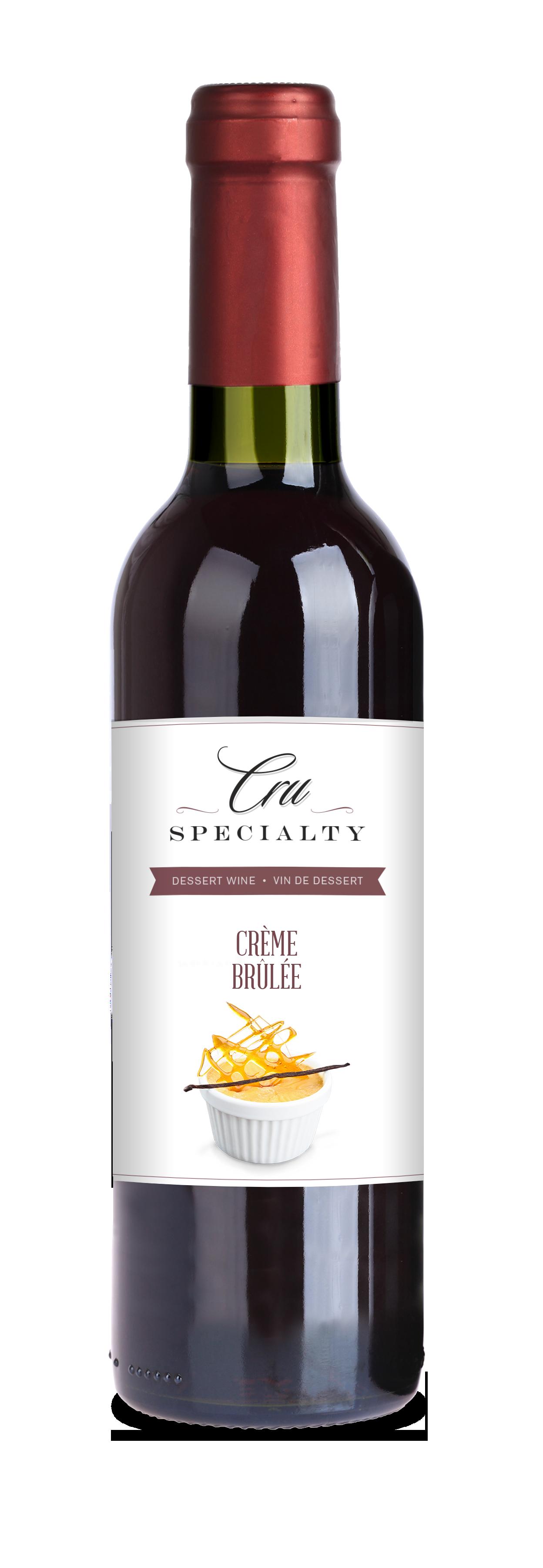 Cru Specialty Creme Brulee Dessert Wine, 12L (3.19 Gallons)-0