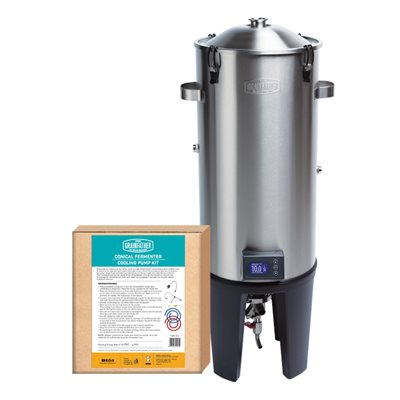 The Grainfather Conical Fermenter, 8 Gallons, w/ Basic Cooling System-0