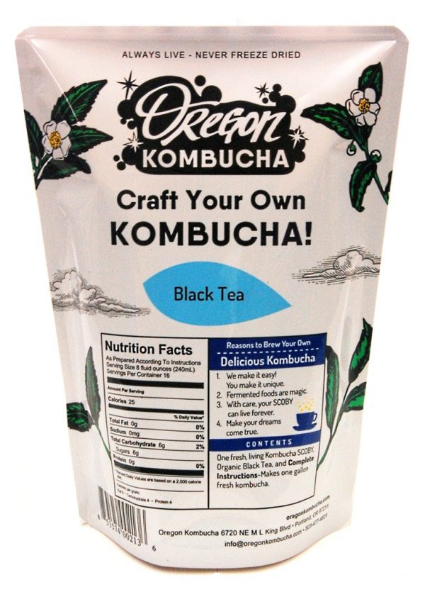 Oregon Kombucha Kit, Black Tea-0