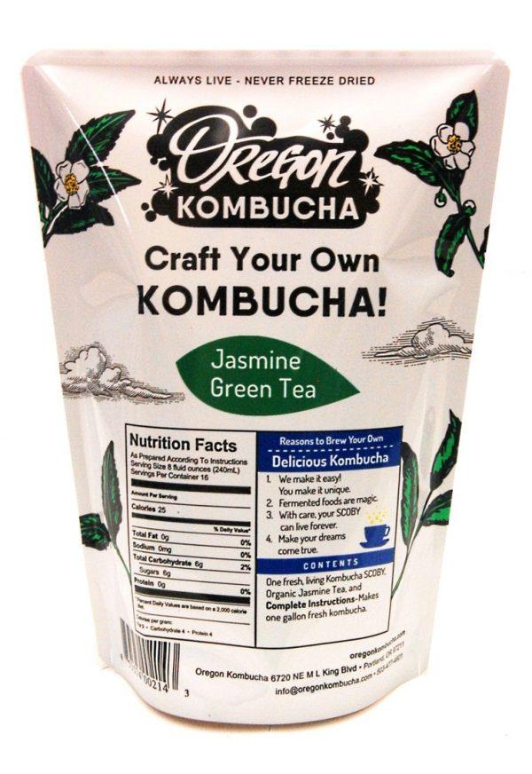 Oregon Kombucha Kit, Jasmine Green Tea-0